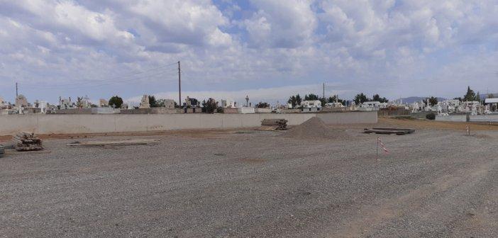 Αγρίνιο: Ολοκληρώνεται η επέκταση του κοιμητηρίου