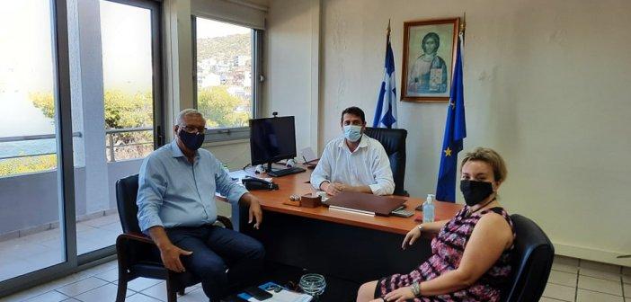 Συνάντηση Δημάρχου Αμφιλοχίας με τον Γενικό Γραμματέα του Υπουργείου Εσωτερικών