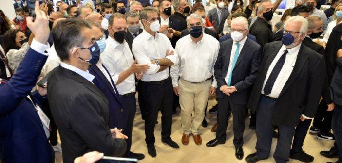 Κυριάκος Μητσοτάκης στη ΔΕΘ 2021: «Θα πατάξουμε τις παράνομες ελληνοποιήσεις»