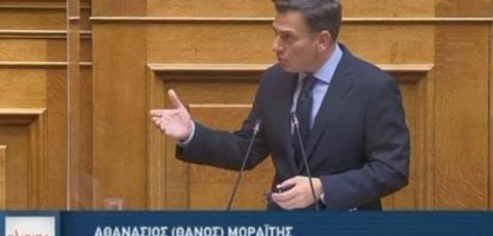 Θάνος Μωραΐτης για Τροπολογία Αυγενάκη: «Εγκληματική η ανικανότητα και η αδράνεια του κ. Αυγενάκη»