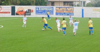 Κύπελλο Ελλάδας: Παναγρινιακός – Π.Ο. Ελασσόνας 2-0 (1-0 ημίχρονο)
