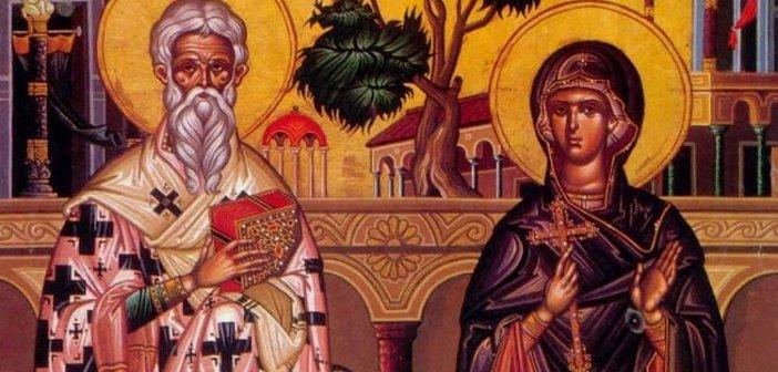 Παραβόλα: Εορτάζει το εξωκλήσι των Αγίων Κυπριανού και Ιουστίνης