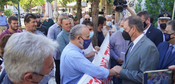 """Σπ. Λιβανός σε εκπροσώπους αγροτών στο Αγρίνιο: Επιζητώ τον διάλογο. Οι πόρτες του Υπουργείου είναι πάντοτε ανοικτές"""""""