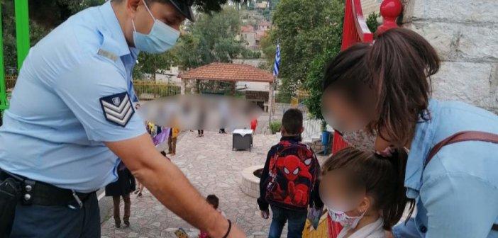 Δυτική Ελλάδα: Συμβουλές οδικής ασφάλειας και κυκλοφοριακής αγωγής από αστυνομικούς στα δημοτικά σχολεία (εικόνες)