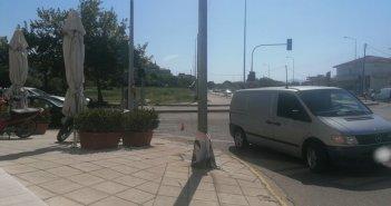 Αγρίνιο: Τραυματίστηκε σε τροχαίο γυναίκα που οδηγούσε δίκυκλο