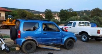 Θέρμο Αιτωλοακαρνανίας: Μοτοσικλέτα συγκρούστηκε με Ι.Χ.