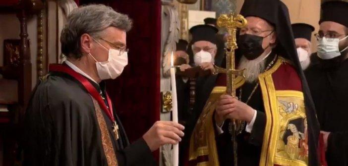 Σωτήρης Τσιόδρας: Χειροθετήθηκε «Άρχων Οφφικιάλιος»