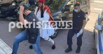 Κορονοϊός – Πύργος: Ποινή φυλάκισης 14 μηνών στον αρνητή «τσολιά»