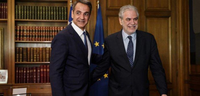 Στις 11:30 ανακοινώνονται Χρήστος Στυλιανίδης και Ευάγγελος Τουρνάς στο υπ. Πολιτικής Προστασίας