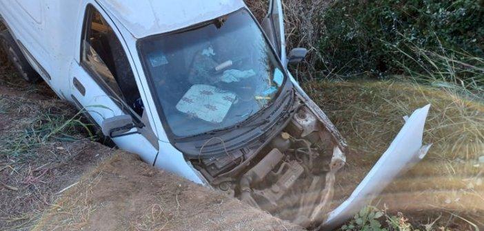 Τροχαίο στη Γουριώτισσσα: Οδηγός έπεσε σε αρδευτικό αυλάκι – Νεκρή η ηλικιωμένη συνοδηγός (ΔΕΙΤΕ ΦΩΤΟ)