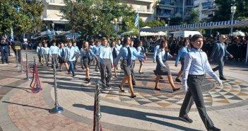 Στιγμιότυπα από την παρέλαση στο Αγρίνιο