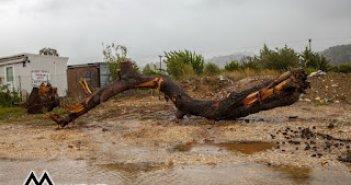 Αστακός: Πλημμύρες και καταστροφές άφησαν πίσω τους η ασταμάτητη βροχή και οι θυελλώδεις άνεμοι (φώτο)