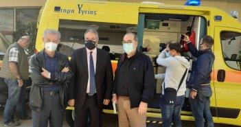 Νέα ασθενοφόρα από την 6η ΥΠΕ σε Χαλκιόπουλο και ορεινή Ναυπακτία – Παραδόθηκαν συνολικά 10 οχήματα
