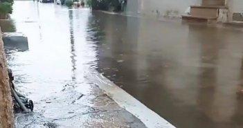 Πλημμύρισε πάλι το Αιτωλικό (εικόνες)