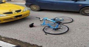 Τραυματισμός ποδηλάτη στο Θέρμο
