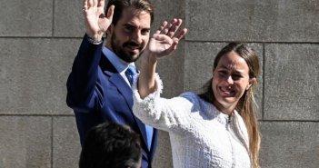 Φίλιππος Γλύξμπουργκ και Νίνα Φλόρ – Παραμυθένιος γάμος στην Μητρόπολη Αθηνών