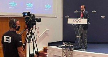 Ν. Φαρμάκης στο Olympia Forum: «Έργα ύψους 120 εκ. ευρώ και 340 επενδυτικά σχέδια υλοποιούνται αυτή τη στιγμή στην Ηλεία» (VIDEO)
