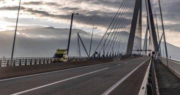 """Ποια οχήματα δεν μπορούν να διασχίσουν τη Γέφυρα Ρίου – Αντιρρίου """"Χαρίλαος Τρικούπης"""""""