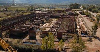 Η πτώση του Γίγαντα: Το παλιό εργοστάσιο κεραμοποιίας στο Αγρίνιο (video)