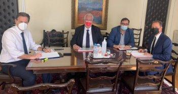 Συνάντηση Εργασίας Λιβανού – Σκυλακάκη για τα ΣΔΙΤ του πρωτογενούς τομέα