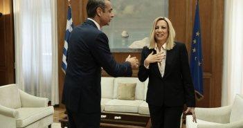 Φώφη Γεννηματά: Ο Κυριάκος Μητσοτάκης επιστρέφει εσπευσμένα στην Αθήνα, ακυρώνει την περιοδεία στα Δωδεκάνησα