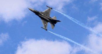 Συγκίνησε το μήνυμα του πιλότου του F-16