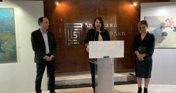 """Αγρίνιο: Εγκαινιάστηκε η έκθεση """"Μαγικός Ρεαλισμός"""" με έργα της Χριστίνας Σωτηροπούλου"""