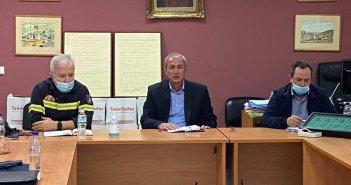 Συνεδρίασε το Συντονιστικό Όργανο της Πολιτικής Προστασίας στο δήμο Θέρμου