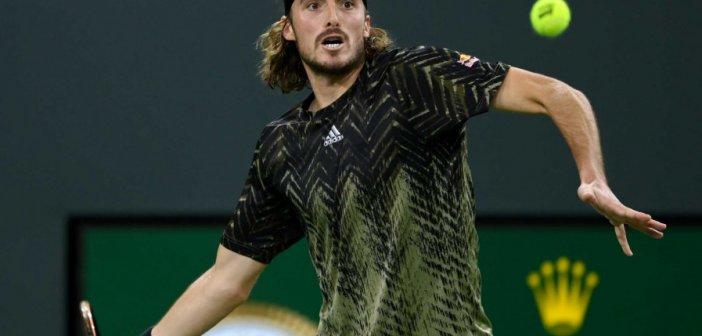 Άλεξ Ντε Μινόρ – Στέφανος Τσιτσιπάς 1-2: Νέα ανατροπή και πρόκριση στους «8» του Indian Wells